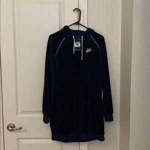 Brand new Nike hooded dress